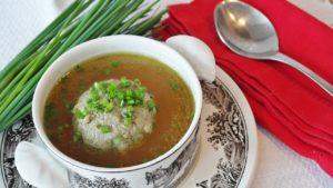 コラーゲンたっぷりのスープ