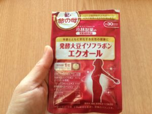 小林製薬 命の母 発酵大豆イソフラボン エクオール